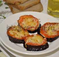 Баклажаны, запеченные вдуховке целиком, веером, кружочками: рецепты спомидорами, сыром, фаршем иветчиной