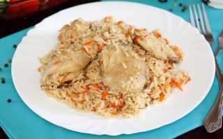 Курица с рисом в мультиварке. Как приготовить вкусное полноценное второе блюдо в мультиварке: рецепты курицы с рисом