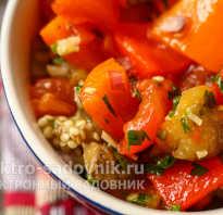 Салат из запеченных баклажанов и помидоров. Салат из запеченных баклажанов, помидоров и перца