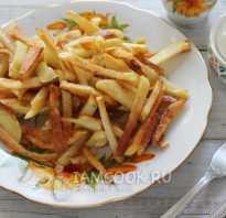 Вкуснейшая жареная картошка на сковороде с хрустящей корочкой