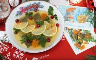 Заливное из рыбы с желатином: рецепт с фото пошагово