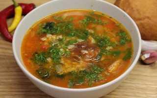 Суп Харчо — 6 рецептов приготовления в домашних условиях