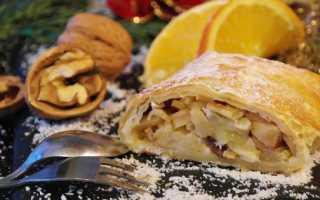 Яблочный штрудель – как готовить в домашних условиях и испечь в духовке