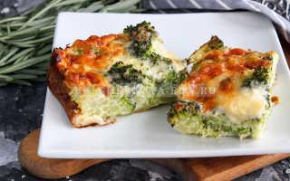 Вкусная запеканка из брокколи с сыром и яйцами. Рецепт с пошаговым фото