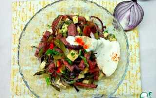 Салат с колбасой «Старый Мюнхен» – рецепт с фото. Салат «Старый Мюнхен
