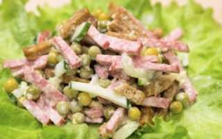 Салат из зеленого горошка: 7 рецептов