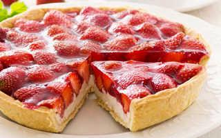 Пирог с клубничным вареньем: рецепты для духовки