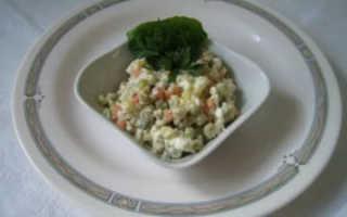 «Столичный» салат – рецепт с курицей классический