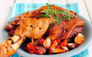 Свиная рулька запечённая в духовке в рукаве – замена колбасы. Запекаем свиную рульку в рукаве в духовке: на пиве, с овощами