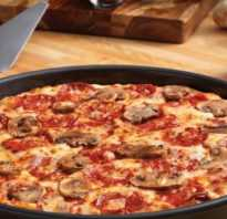 Быстрое приготовление пиццы в домашних условиях: рецепт