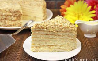 Торт из сгущёнки, приготовленный на сковороде ⋆ Готовим вкусно, красиво и по-домашнему!