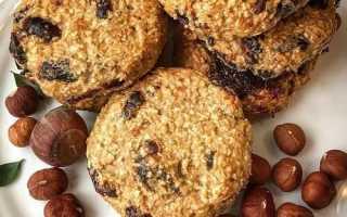 Диетическое овсяное печенье— рецепты домашние
