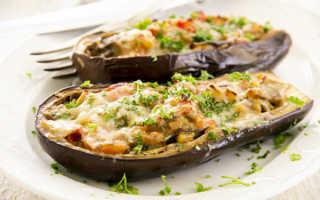 Баклажаны, фаршированные мясом, помидорами и сыром, по-тоскански