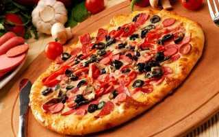Пицца с колбасой и сыром в домашних условиях — простые рецепты