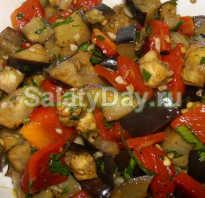 Салат из жареных баклажанов – лучшие рецепты вкусного блюда на каждый день