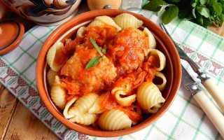 Вкусные рецепты мясных фрикаделек в томатном соусе