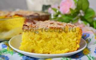 Как приготовить сахарный пирог по пошаговому рецепту с фото