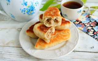 Как приготовить жареные пирожки с мясом по пошаговому рецепту с фото