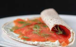 Роллы из лаваша с красной рыбой: особенности приготовления и рецепты