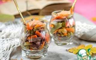 Шесть рецептов осенних салатов