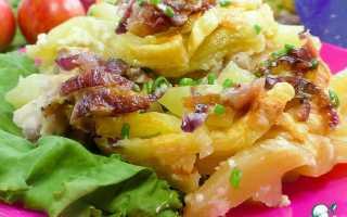 Картошка с курицей в микроволновке рецепт