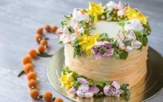 6 вкуснющих рецептов крема «Пломбир» для торта