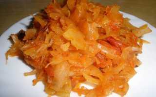 Жареная капуста – 8 рецептов приготовления на сковороде