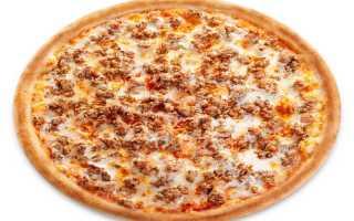Как сделать пиццу с фаршем