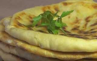 Как приготовить хачапури по-тбилисски с сыром на сковороде по пошаговому рецепту с фото