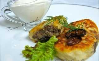 Как приготовить картофельные зразы с фаршем и грибами: пошаговые рецепты