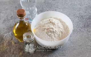 Тесто на пиццу без дрожжей на воде: рецепты с фото пошагово тонкой бездрожжевой, пышной на соде и обычной пресной (постной) основы