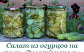 Салаты из огурцов на зиму – вкусные рецепты Пальчики оближешь