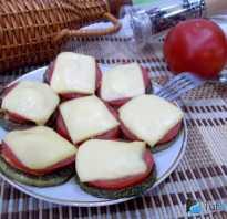 Рецепты приготовления бутербродов с кабачками и помидорами