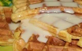 Венские вафли творожные рецепт для электровафельницы