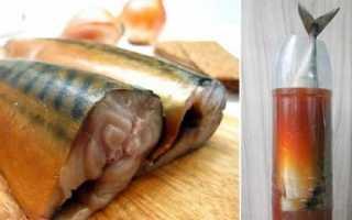 Дешевый деликатес своими руками: скумбрия в бутылке, которая переплюнет по вкусу даже семгу