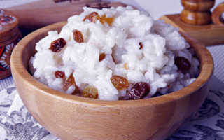 Как правильно приготовить кутью из риса с изюмом