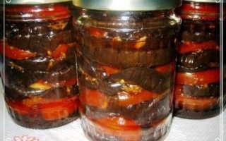 Баклажаны с помидорами на зиму – сохраним вкус и пользу лета! Рецепты улетных закусок из баклажанов и помидоров на зиму