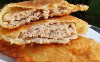 6 рецептов чебуреков с мясом в домашних условиях