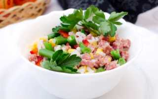 Салат с колбасой – самые простые и необыкновенно вкусные рецепты закуски на каждый день