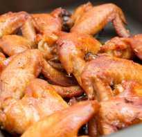 Пикантные острые куриные крылышки в духовке