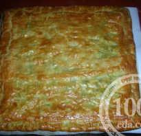 Слоеный пирог с луком, яйцом: с дрожжами и без. Оригинальные рецепты пирога с луком и яйцом из слоеного теста