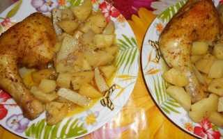 Окорочка в рукаве в духовке: рецепты приготовления с картошкой и рисом
