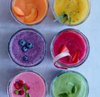 Полезные смузи : 3 рецепта вашего здоровья