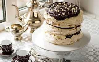Торт Безе с маскарпоне