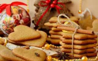 Имбирное печенье — классический домашний рецепт на Рождество и Новый год с фото