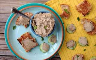 Паштет печёночный — 6 рецептов в домашних условиях