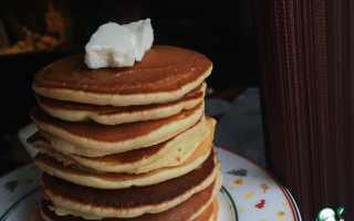 Рецепт американских панкейков в домашних условиях с фото