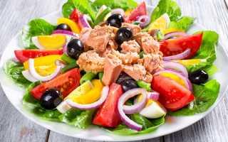 Салат с тунцом – варианты рецептов и способы приготовления –