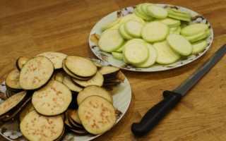 Рецепты запеканок из кабачков и баклажанов
