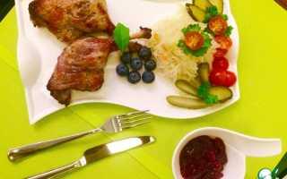 Рецепты приготовления утиных ножек